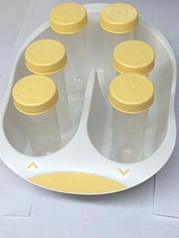 Medela Tray with Six 80ml Bottles