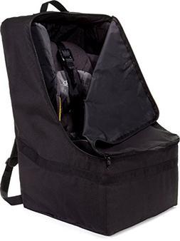 Benno Ultimate Backpack Padded Car Seat Travel Bag, Black