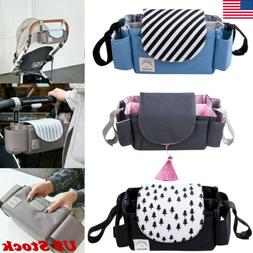 Universal Buggy Baby Pram Organizer Bottle Holder Stroller C