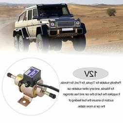Universal Electric Fuel Pump Low Pressure Gas Inline 12V 3-5