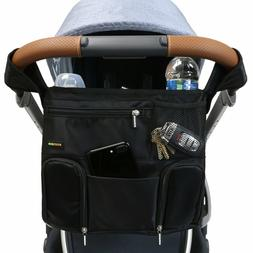 Emmzoe Universal Fit Stroller Organizer All-in-One Travel In