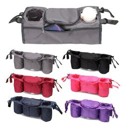 Universal Pouch Pushchair Stroller Organizer Cup Bag Holder
