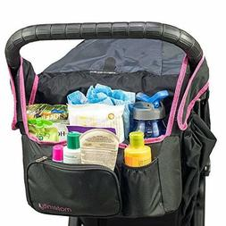 Universal Stroller  Organizer Insulated Cup Holder Maternity