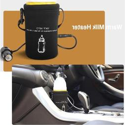 Universal Travel Baby Bottle Warmer 12V Car Auto Heater Port