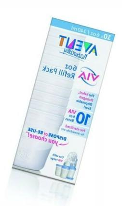 Avent VIA 6oz Bases 10ct Baby Bottle, New