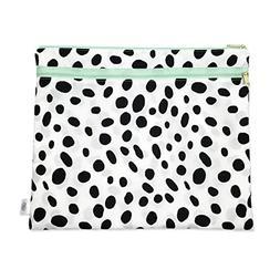 Wet + Dry Portfolio - Waterproof Cloth Diaper Wet Bag with D