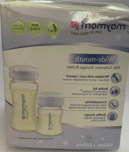 Maymom Wide-mouth Milk Storage Collection Bottle with SureSe